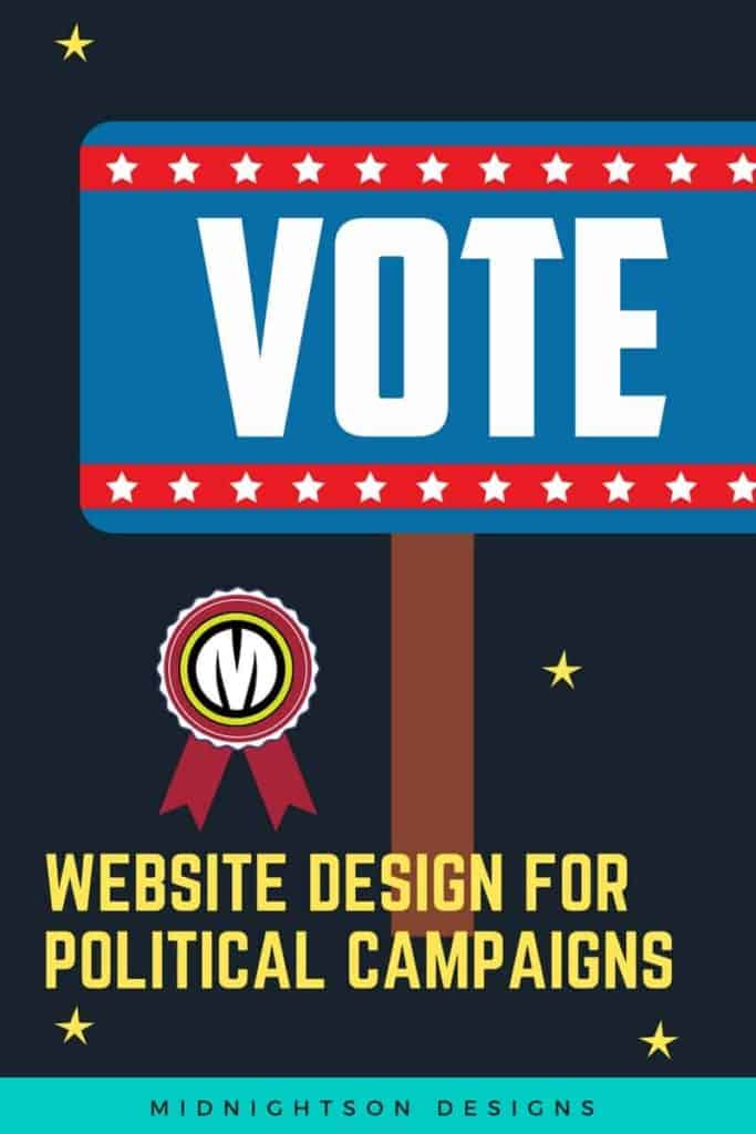 Political Campaign Website Design featured image free quote